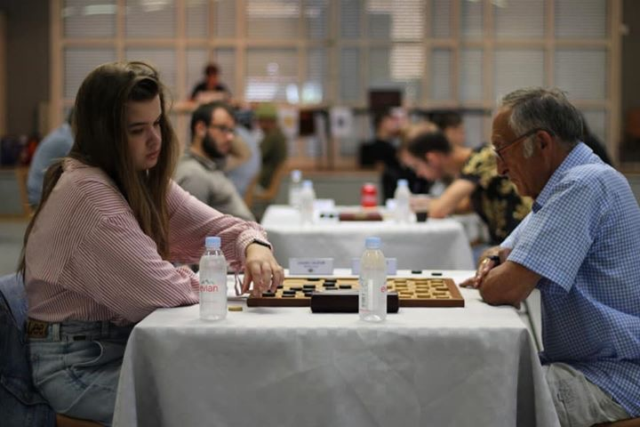 Parties de l' Open national du Léman 2019 de Jeu de Dames