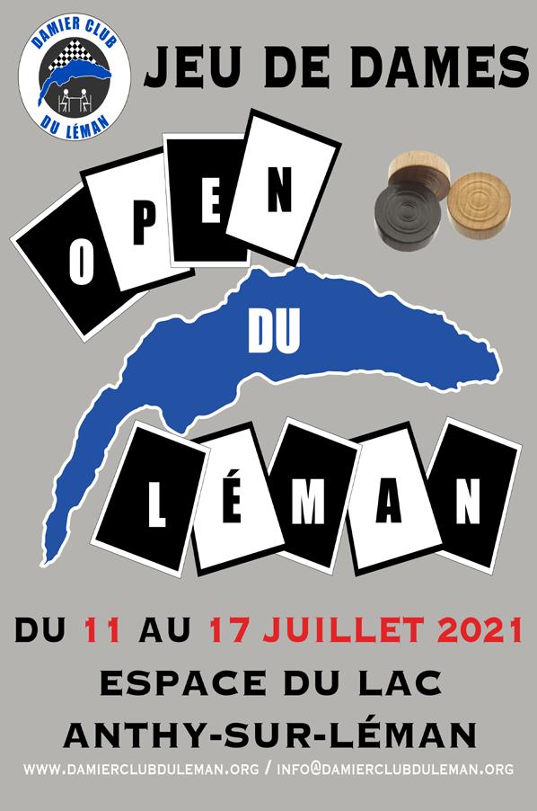 Open national du Léman 2021