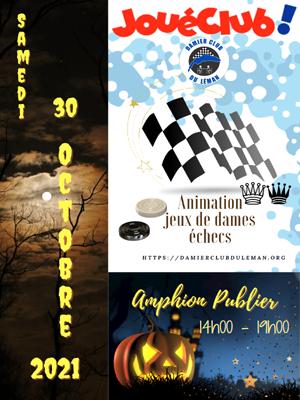 Animation JouéClub! Amphion Publier