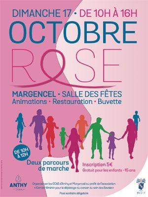 Octobre Rose Margencel 2021